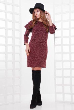 MarSe. Платье. Артикул: 1756 бордовый