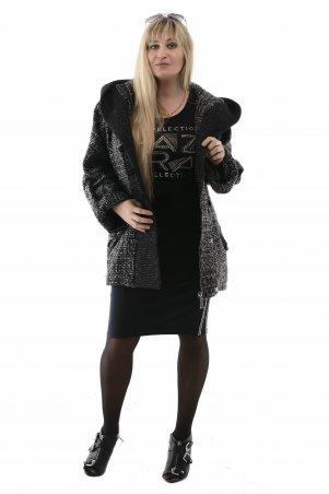 Vicco. Пальто женское весеннее MILANA (цвет меланжевый). Артикул: 7542