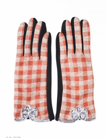 ISSA PLUS. Перчатки. Артикул: 4152_коричневый