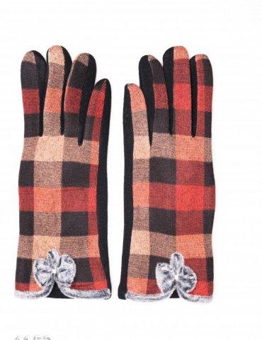ISSA PLUS. Перчатки. Артикул: 4152_оранжевый