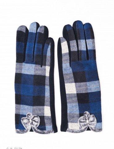 ISSA PLUS. Перчатки. Артикул: 4152_синий
