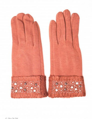 ISSA PLUS. Перчатки. Артикул: 4207_коричневый