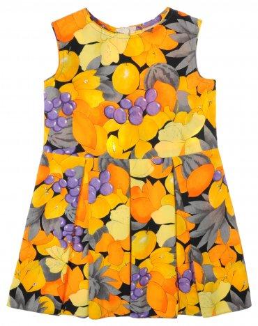 Garden baby. Платье, фрукты-1. Артикул: 45069-48