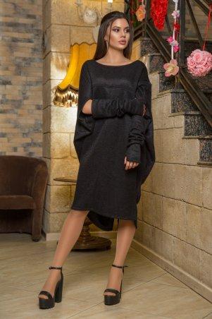 Modna Anka. Платье Buquet черный. Артикул: 212518