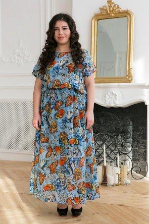 Tatiana. Шифоновое длинное платье. Артикул: ФАННИ