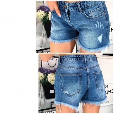 Immagine. Стильные джинсовые шорты. Артикул: 1067-432 х