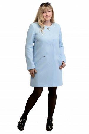 Vicco. Женский весенний плащ - кардиган SHARLOTA (цвет голубой дизайн сота). Артикул: 7920