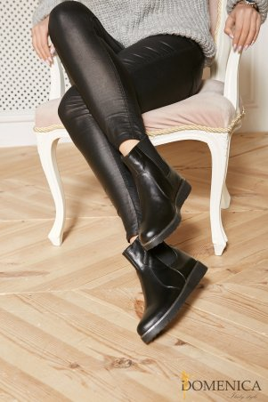 Domenica. Стильные ботинки с резинкой. Артикул: Артикул 109