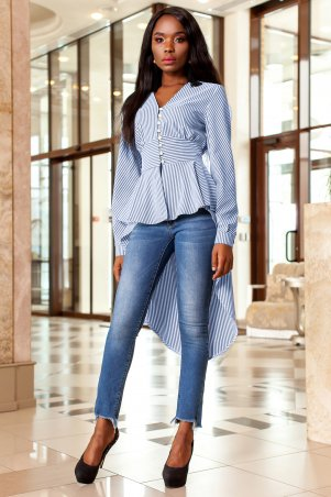 Jadone Fashion. Рубашка-туника. Артикул: Гарсия М1