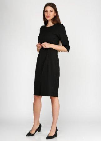Kaiza. Платье 8025 - АШАН чёрный. Артикул: 802517BL413DR