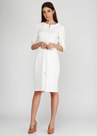 Kaiza. Платье 8025 - АШАН белый. Артикул: 802517WH413DR