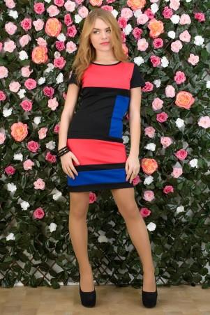 5.3 Mission: Платье двухцветное Квадраты 2023/2 - главное фото
