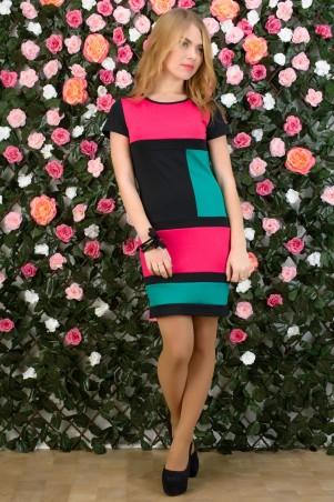 5.3 Mission: Платье двухцветное Квадраты 2023 - главное фото