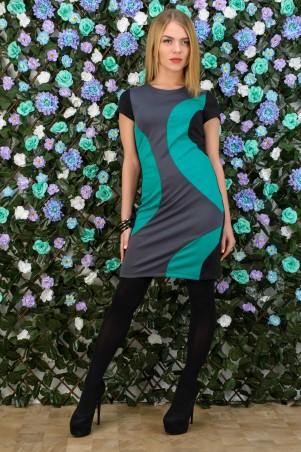 5.3 Mission: Платье двухцветное Круги 2022/3 - главное фото