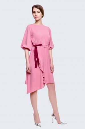 Cher Nika. Платье с затяжным поясом. Артикул: 933
