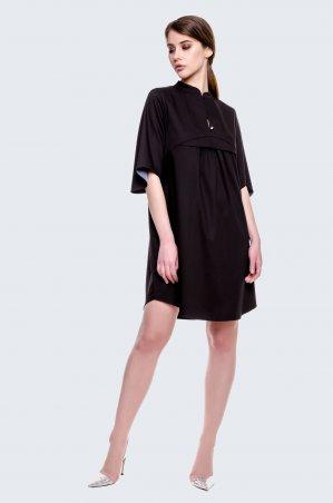 Cher Nika. Черное короткое платье. Артикул: 929