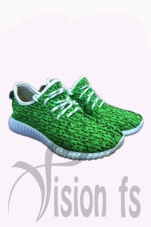 Vision FS. Трендовые текстильные кроссовки. Артикул: 16102 Z