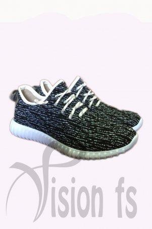 Vision FS. Трендовые текстильные кроссовки. Артикул: 16102 A