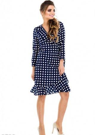 ISSA PLUS: Платья 9729_темно-синий - главное фото