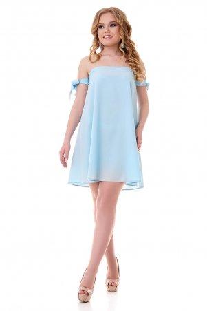 "Vision FS. Платье с открытыми плечами ""Два Бантика"". Артикул: 18502 G"