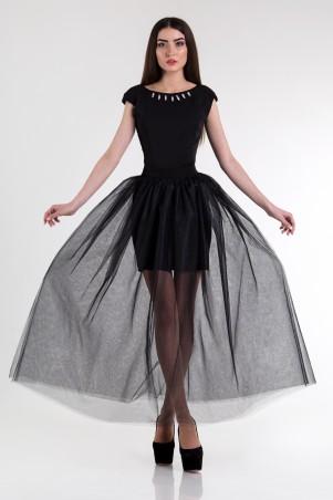 Cocoon. Платье. Артикул: Noemi-black