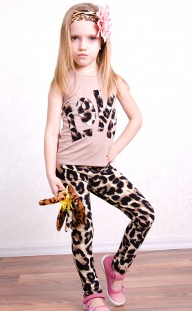 "Sofia Shelest. Лосины ""Лео"" леопард. Артикул: 000423"