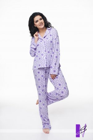 New Style. Пижама. Артикул: 988_фиолет