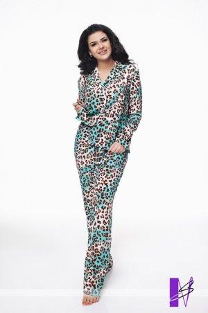 New Style. Пижама. Артикул: 986_леопардовый