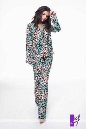 New Style. Пижама. Артикул: 985_леопардовый