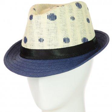 Cherya Group. Шляпа Челентанка. Артикул: 12017-31 синий