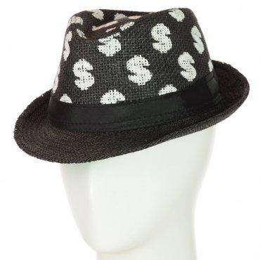 Cherya Group. Шляпа Челентанка. Артикул: 12017-30 черный