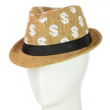 Cherya Group. Шляпа Челентанка. Артикул: 12017-30 светло-коричневый