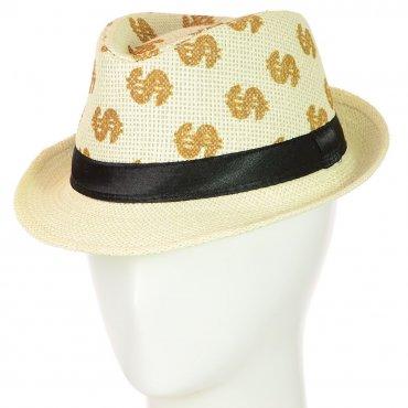 Cherya Group. Шляпа Челентанка. Артикул: 12017-30 молочный