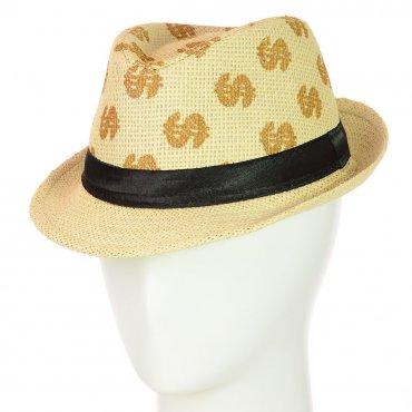 Cherya Group. Шляпа Челентанка. Артикул: 12017-30 бежевый