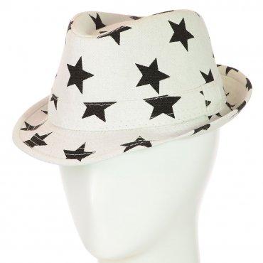 Cherya Group. Шляпа Челентанка. Артикул: 12017-25 белый