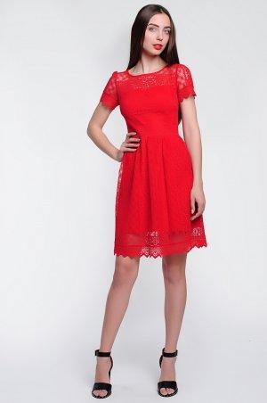 S.OVA. Стильное коктейльное платье длиной мини. Артикул: S12111
