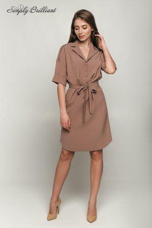 Simply brilliant. Платье-рубашка. Артикул: Алекса02