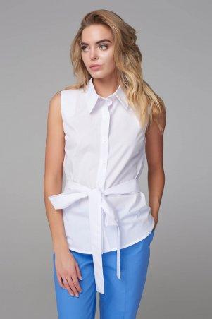 Marterina. Рубашка на запах сзади белая. Артикул: K09R11CT01
