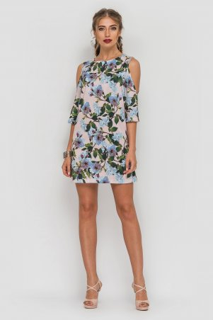 TessDress. Платье с вырезами на рукавах «Астина». Артикул: 1558