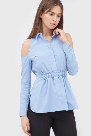 """Cardo. Рубашка """"LOIZ"""" голубой. Артикул: CRD1702-0201"""