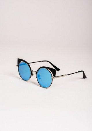 ISSA PLUS. Солнцезащитные очки. Артикул: O-67_голубой