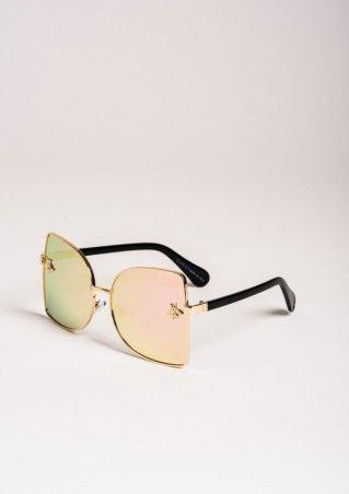 ISSA PLUS. Солнцезащитные очки. Артикул: O-65_розовый