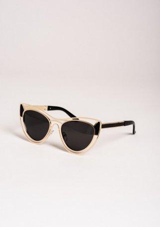 ISSA PLUS. Солнцезащитные очки. Артикул: O-55_голубой
