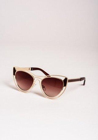 ISSA PLUS. Солнцезащитные очки. Артикул: O-55_коричневый