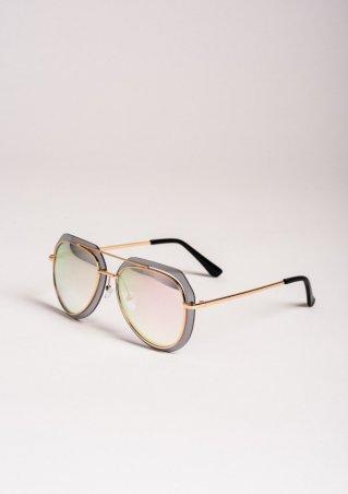 ISSA PLUS. Солнцезащитные очки. Артикул: O-46_розовый