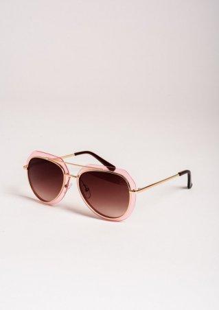 ISSA PLUS. Солнцезащитные очки. Артикул: O-46_коричневый