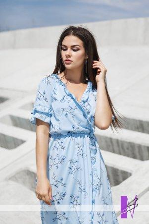 New Style. Платье. Артикул: 1287_голубой