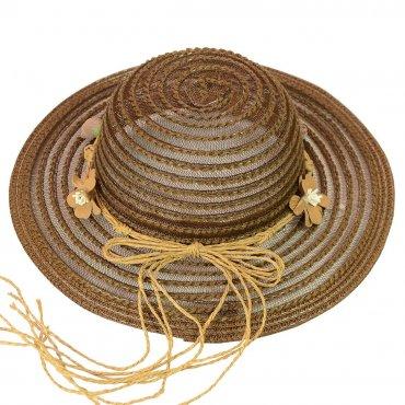Cherya Group. Шляпа. Артикул: 22017-14 темно-коричневый