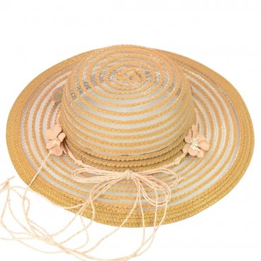 Cherya Group. Шляпа. Артикул: 22017-14 коричневый
