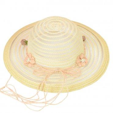 Cherya Group. Шляпа. Артикул: 22017-14 бежевый